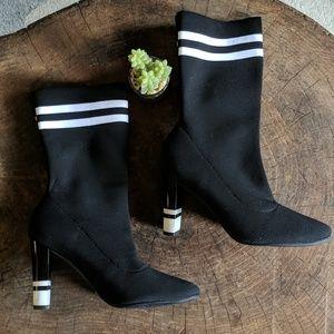 Sam Edelman || Circus Striped Sock Boots